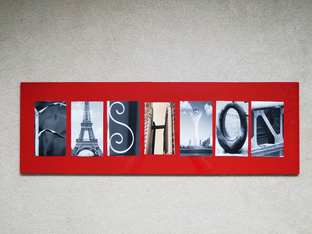 Fashion 1 7 Letters Word Alphabet Photography Letter Art